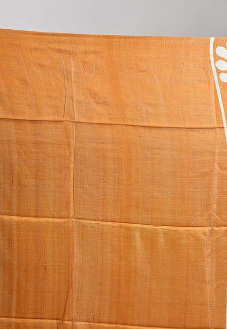 Beige Color Printed Soft Pure Tussar Silk Saree (She Saree 896)
