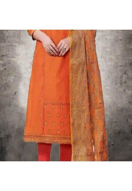 Mustard Color Designer Salwar Suit (She Salwar 557)