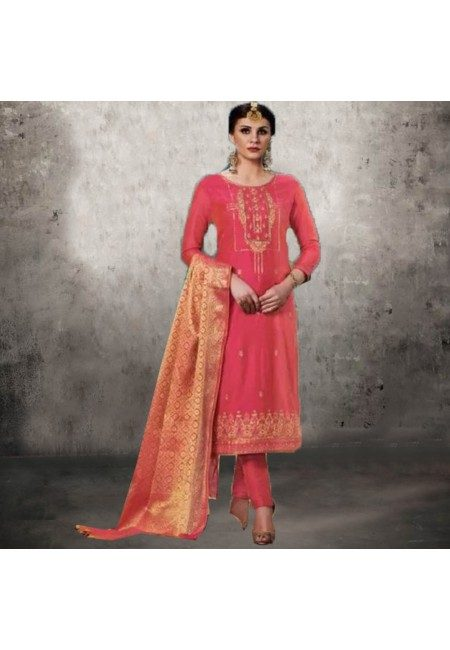 Peach Color Designer Salwar Suit (She Salwar 559)