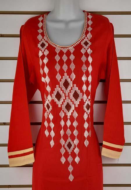 Red Color Boutique Suit Set (She Boutique Suits 532)