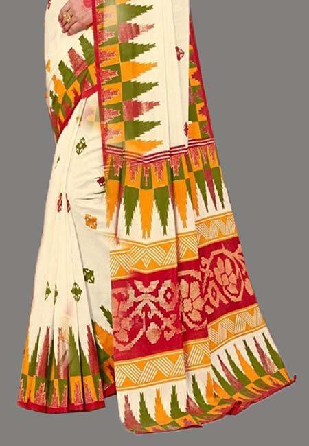 Off White Color Art Silk Saree (She Saree 710)