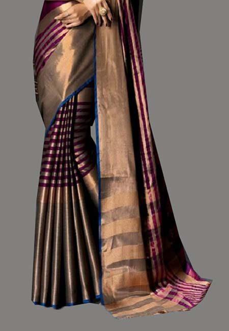 Magenta Color Cotton Silk Saree (She Saree 732)
